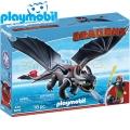 2017 Playmobil Dragons Халцук и Беззъб 9246