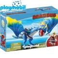 2017 Playmobil Dragons Астрид и Буреноска 9247