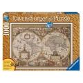 Ravensburger  Пъзел 1000ч. Антична карта на света 19004