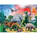 Ravensburger Супер Пъзел 100ч. Динозаврите 10957
