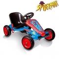 Smoby - Картинг кола Go Kart Spiderman ІІІ 033028
