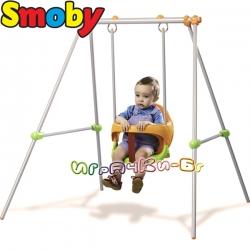 Smoby Градинска люлка за едно дете Baby Swing 310046