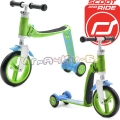Scoot and Ride Highwaybaby Тротинетка/колело за баланс 2 в 1 Green/Blue