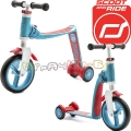 Scoot and Ride Highwaybaby Тротинетка/колело за баланс 2 в 1 Blue/Red