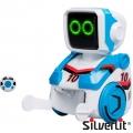 Silverlit Kickabot Мини робот с дистанционно управление Blue 88548