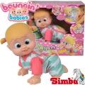 Simba Bouncin Babies Пълзяща кукла Бони Benny&Bonny 105143250
