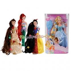 Simba Disney Princess Кукла Ariel с дълга коса и аксесоари