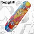 Felyx Toys - Детски скейтборд YW-3108PP 79см. Colors Fish