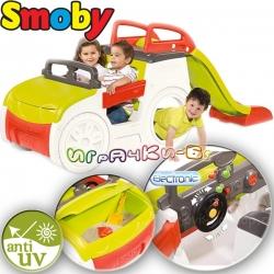 Smoby Градински център за игра Кола с пясъчник и пързалка 840200
