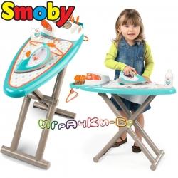 Smoby Парна ютия с дъска за гладене и аксесоари 330118