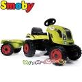 Smoby Детски трактор с ремарке Arion XL 400 Green 7600710114