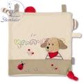 Sterntaler Мека шумяща кърпичка Кученце 37251