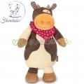 *Sterntaler Karlotta - Бебешка играчка със сърдечен ритъм Кравичка