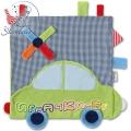 Sterntaler Urban 37152 - Мека шумяща кърпичка Кола