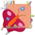 Sterntaler Urban 37153 - Мека шумяща кърпичка Пеперудка