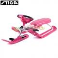 * Stiga Зимна шейна с кормило Snowracer Pink