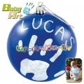2013 Baby Art Christmas Ball Коледна топка за отпечатък в синьо