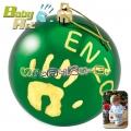 2013 Baby Art Christmas Ball Коледна топка за отпечатък в зелено