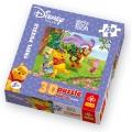 Trefl Winnie The Pooh Пъзел 3D Пух в дъжда 120ч