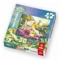 Trefl Fairies Пъзел 3D Феите и вълшебните цветя 120ч