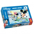 Trefl Пъзел Мики и Мини се хранят 60 части Mickey Mouse