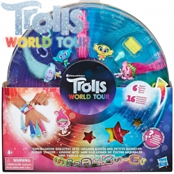 Trolls World Tour Комплект 6 бр. мини фигурки Тролчета Tiny Dancers E8283