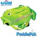 Trunki Детска раничка PaddlePak Жаба в зелено