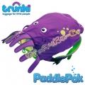 Trunki Детска раничка PaddlePak Октопод в лилаво