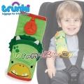 Trunki - Мека подложка за колан в зелено Динозавърче