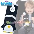 Trunki - Мека подложка за колан в черно Пингвинче