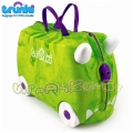 Детски куфар 3 в 1 Ride on DELUXE Rex Limited Edition Trunki