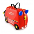 Trunki Детски куфар 3 в 1 Ride-on DELUXE Fire Engine Limited