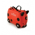 Trunki Детски куфар 3 в 1 Ride-on DELUXE LadyBug Limited Edt