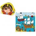 Vilac Дървен пъзел Пират 2555
