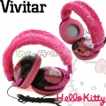 Vivitar Слушалки Hello Kitty Pink