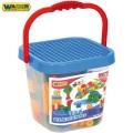 Wader Toys Кофа с блокове 134 елемента 41340