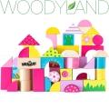 WoodyLand Дървен конструктор Градина 91302