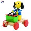 Woody Играчка за дърпане Куче с ксилофон 90202