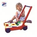 Woody Дървен конструктор количка за прохождане 90477