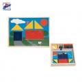 Woody Дървена дидактическа игра Намери формата 90605
