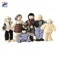 Woody Дървени кукли семейство 90620