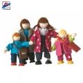 Woody Дървени кукли семейство 90678