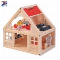 Woody Дървена къща за кукли 90904