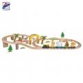 Woody Дървен влак с животни 93031