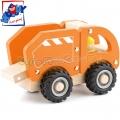 Woody Дървено камионче за боклук 91801