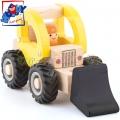 Woody Дървено камионче Багер 91803