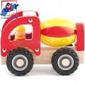 Woody Дървено камионче Бетоновоз 91802