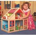 Woody Дървена къща за кукли Вероника 90813