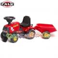 FALK - RAID-ON Трактор с ремарке за яздене 972B Red