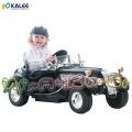 KALEE Retro - Акумулаторна кола Black